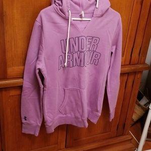 Under armour hoodie. Purple.